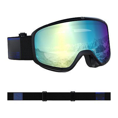 GOGGLES FOUR SEVEN PHOTO Blk/AW Blue