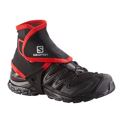 TRAIL GAITERS HIGH BLACK